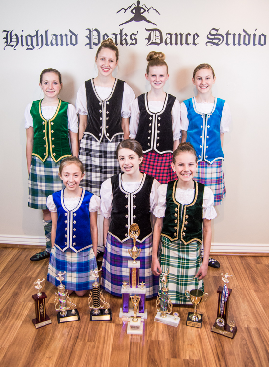 scottish highland dance at Highland peaks dance studio utah
